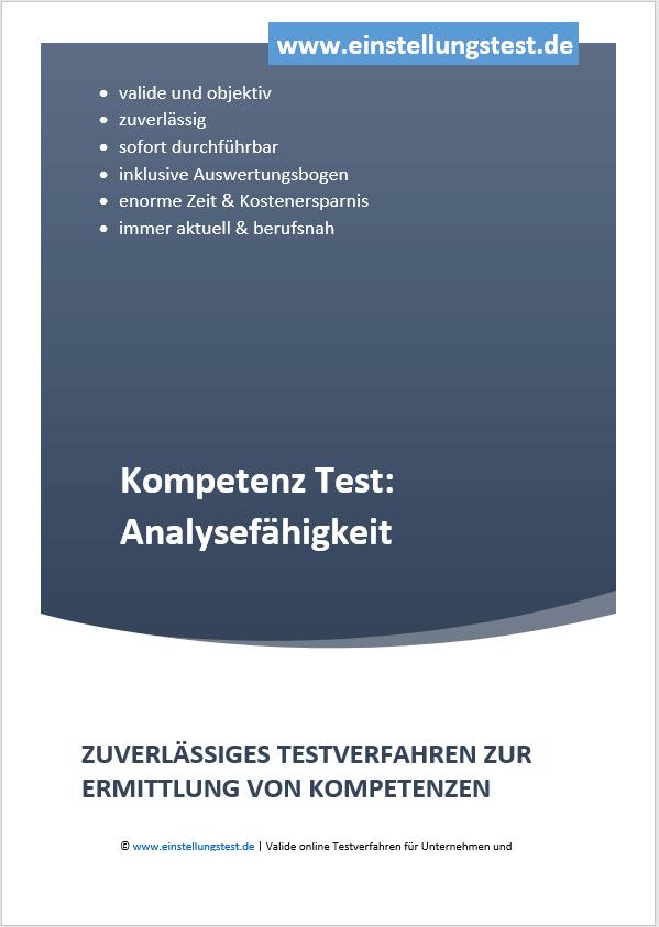 Einstellungstest im Auswahlverfahren: Analysefähigkeiten