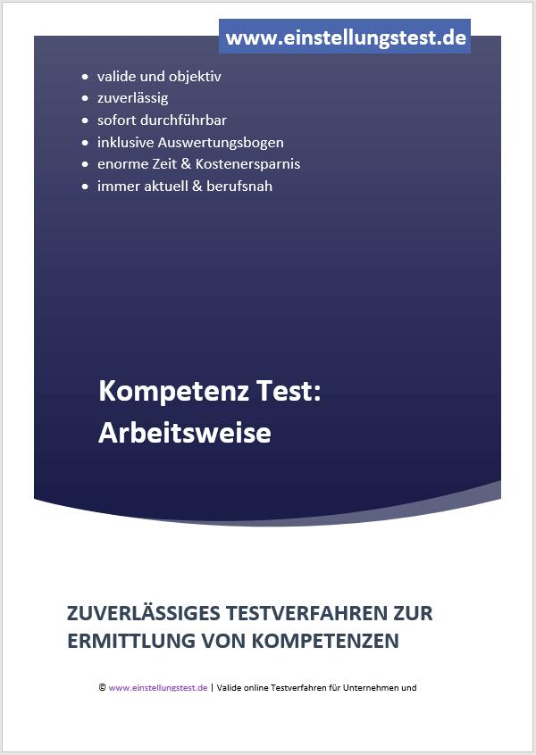 Einstellungstest im Auswahlverfahren: Arbeitsweise