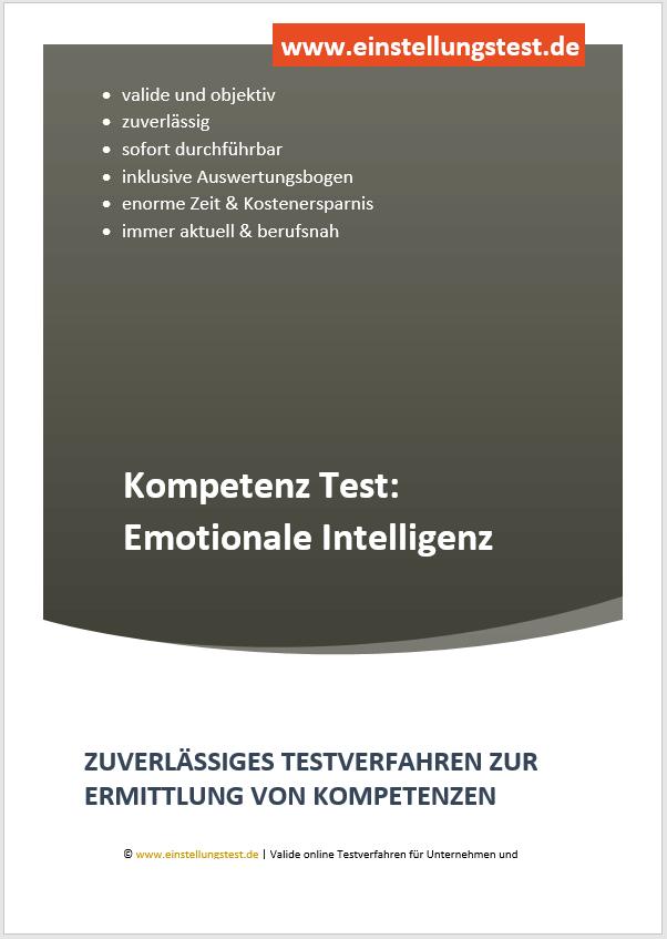 Einstellungstest im Auswahlverfahren: Emotionale Intelligenz