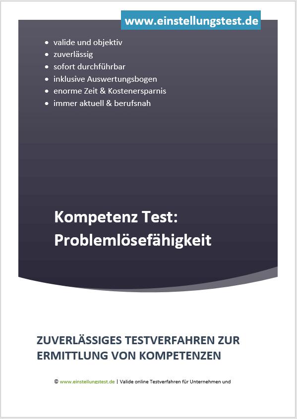 Einstellungstest im Auswahlverfahren: Problemlösefähigkeiten