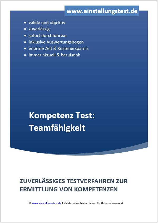 Einstellungstest im Auswahlverfahren: Teamfähigkeit
