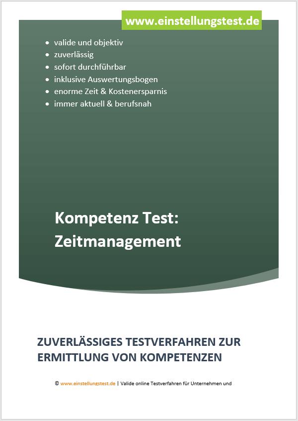 Einstellungstest im Auswahlverfahren: Zeitmanagement